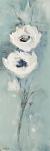 """Just the two of us,"" by Susan Flaig 8 x 24 - acrylic/graphite $750 Unframed"