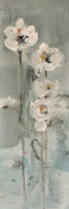 """Sense,"" by Susan Flaig 8 x 24 - acrylic/graphite $750 Unframed"