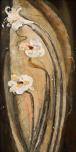 """Unity,"" by Susan Flaig 12 x 24 - acrylic/graphite $970 unframed"