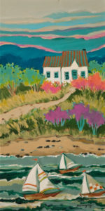 """In Front of the Bay,"" by Claudette Castonguay 10 x 20 - acrylic $540 Unframed"
