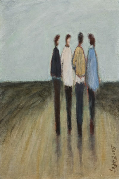 """It's Unanimous,"" by Bev Binfet 8 x 12 - acrylic $465 Unframed"