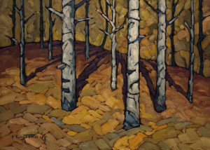 "SOLD ""Aspen Study,"" by Phil Buytendorp 10 x 14 – oil $850 Unframed"