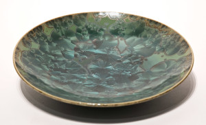 "SOLD Bowl (BB-3561) by Bill Boyd crystalline-glaze ceramic – 8 1/2"" $110"