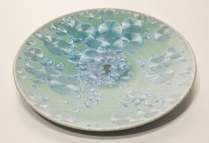 "SOLD Bowl (BB-3778) by Bill Boyd crystalline-glaze ceramic – 9 1/2"" (W) $125"