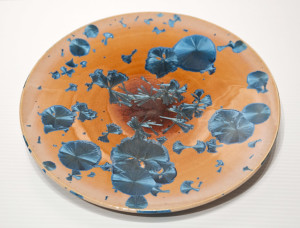 "SOLD Bowl (BB-3779) by Bill Boyd crystalline-glaze ceramic – 9 1/2"" (W) $125"