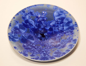 "SOLD Bowl (BB-3780) by Bill Boyd crystalline-glaze ceramic – 8 1/2"" (W) $115"