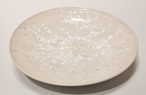 "SOLD Bowl (BB-3784) by Bill Boyd crystalline-glaze ceramic – 12"" (W) $220"