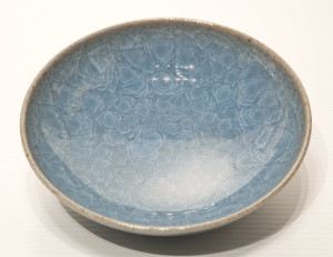 "SOLD Bowl (BB-3786) by Bill Boyd crystalline-glaze ceramic – 6 1/2"" (W) $80"
