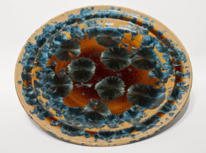 "SOLD Bowl (BB-4060) by Bill Boyd crystalline-glaze ceramic – 16"" (W) $650"
