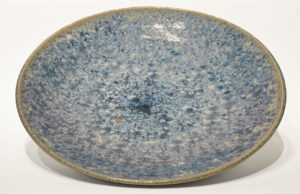 "Bowl (BB-4061) by Bill Boyd crystalline-glaze ceramic - 18"" (W) $750"