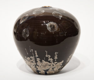 "SOLD Vase (BB-4064) by Bill Boyd crystalline-glaze ceramic - 6"" (H) x 6"" (W) $250"