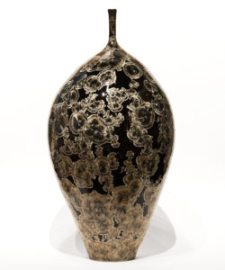 "Bottle (BB-4070) by Bill Boyd crystalline-glaze ceramic - 19"" (H) x 9 1/2"" (W) $1425"
