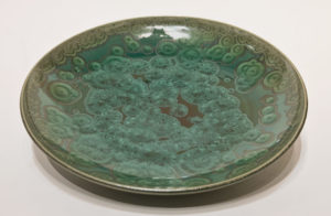 "SOLD Bowl (BB-4175) by Bill Boyd crystalline-glaze ceramic – 10 1/2"" (W) $160"