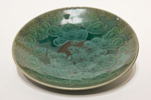 "SOLD Bowl (BB-4176) by Bill Boyd crystalline-glaze ceramic – 10"" (W) $135"