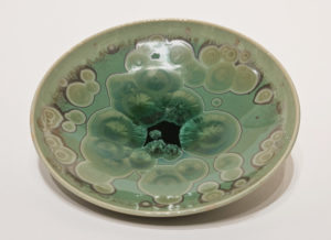 "SOLD Bowl (BB-4177) by Bill Boyd crystalline-glaze ceramic – 7 1/2"" (W) $110"