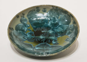 "SOLD Bowl (BB-4178) by Bill Boyd crystalline-glaze ceramic – 7"" (W) $100"