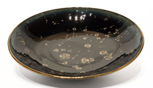 "SOLD Bowl (BB-4233) by Bill Boyd crystalline-glaze ceramic - 17"" (W) $800"
