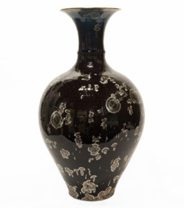 "Vase (BB-4234) by Bill Boyd crystalline-glaze ceramic - 16 1/2"" (H) x 9"" (W) $1100"