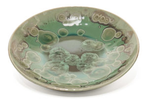 "Bowl (BB-4239) by Bill Boyd crystalline-glaze ceramic - 8"" (W) $110"