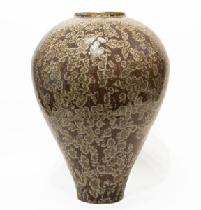 "Vase (BB-4246) by Bill Boyd crystalline-glaze ceramic - 18"" (H) x 12"" (W) $1600"
