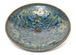 "SOLD Bowl (BB-4248) by Bill Boyd crystalline-glaze ceramic - 13"" (W) $300"