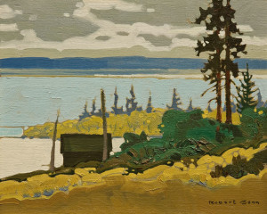"SOLD ""Coast Offskip,"" by Robert Genn 8 x 10 – acrylic $2900 Unframed"