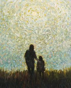 "SOLD ""Healing,"" by Steve Coffey 16 x 20 - oil $1585 Unframed"