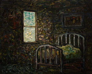 """The Morning Sleep,"" by Steve Coffey 8 x 10 - oil $740 Unframed"