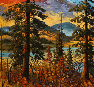 """Shuswap Shores,"" by Rod Charlesworth 28 x 30 - oil $3050 Unframed"
