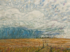 """A Slow Rain,"" by Steve Coffey 18 x 24 - oil $1850 Unframed"