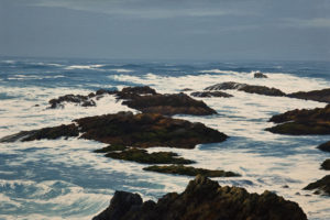 """Storm Warning,"" by Merv Brandel 20 x 30 - oil $3700 Unframed"