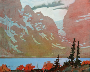 "SOLD ""Yoho Pattern"" (2013), by Robert Genn 16 x 20 – acrylic $6600 Unframed"