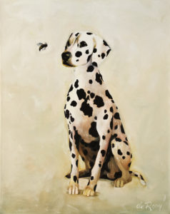 """I Spotted You First,"" by Adrian deRooy 24 x 30 $1760 (thick canvas wrap)"