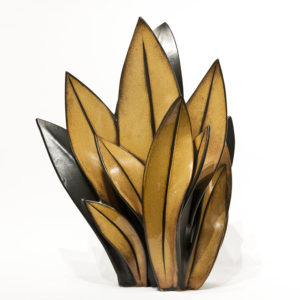 "SOLD Samara Cluster (LR-231) by Laurie Rolland hand-built ceramic – 18"" (H) x 13"" (L) $1100"