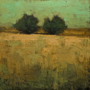 """Duo No. 2,"" by Robert P. Roy 40 x 40 - oil $2650 (thick canvas wrap)"