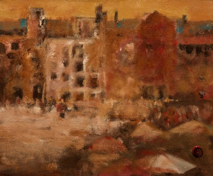 "SOLD ""Old Havana - Cuba"" by H. E. Kuckein 10 x 12 - oil $950 Unframed $1075 in show frame"