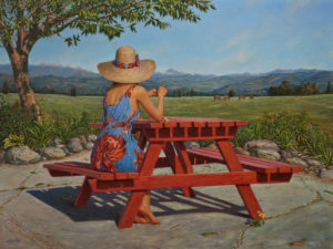 """Summer Pastoral,"" by Don Li 18 x 24 - oil $5200 Unframed"