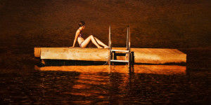 """Warmth of Summer,"" by Don Li 24 x 48 - oil $6120 Unframed"