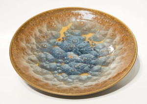 "SOLD Bowl (BB-3856) by Bill Boyd crystalline-glaze ceramic – 16"" (W) $475"