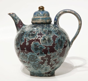 SOLD Teapot (BB-3862) by Bill Boyd crystalline-glaze ceramic – medium $450