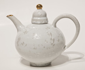 Teapot (BB-3863) by Bill Boyd crystalline-glaze ceramic - small $400