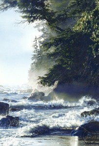 """Afternoon High Tide,"" by Carol Evans 20 x 30 - Giclée on canvas (edition size of 195) - $695 Unframed PAPER EDITION SOLD OUT"