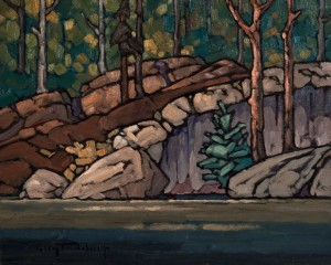 "SOLD ""Limestone Lake No. 2,"" by Phil Buytendorp 8 x 10 - oil $520 Unframed $700 in show frame"