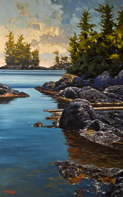 """""""Bright Afternoon,"""" by Graeme Shaw 30 x 48 - oil $4175 Unframed"""