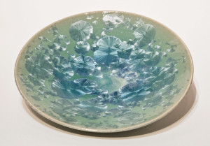 "SOLD Bowl (BB-3958) by Bill Boyd crystalline-glaze ceramic – 9"" (W) $115"