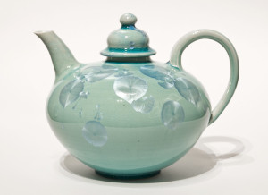 SOLD Teapot (BB-3962) by Bill Boyd crystalline-glaze ceramic $375