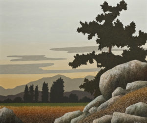 """After Sundown,"" by Ken Kirkby 30 x 36 - oil $2970 Unframed"