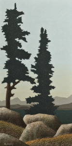 """Quiet,"" by Ken Kirkby 12 x 24 - oil $850 Unframed"