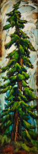 "SOLD ""I Don't Get It,"" by David Langevin 12 x 48 – acrylic $2100 Unframed"