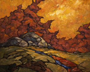"SOLD ""A Little Bit Warm,"" by Phil Buytendorp 16 x 20 – oil $1475 Unframed"